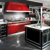 Lacquered wooden kitchen with island GRAND GOURMET Grand Gourmet Collection by Brummel Cucine