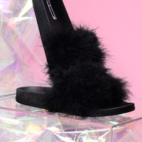 Feather Weather Sliders - Black