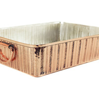 Copper-Coated Roasting Pan, Roasters