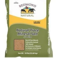 Redmond Natural Trace Mineral Salt #10 - 50 LB