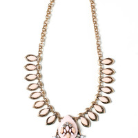 Point For Me Jewel Necklace