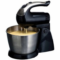 Brentwood 5-Speed Stand Mixer Stainless Steel bowl 200w Black