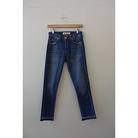 AMO Denim Medium Wash Skinny Jeans (25)