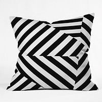Three Of The Possessed Dazzle Uptown Outdoor Throw Pillow