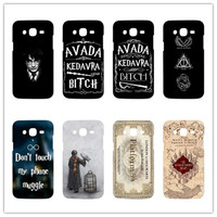 Harry Potter Quotes Cover case For samsung galaxy S3 S4 mini S5 S6 Note 2 3 4 5 Hard plastic Cover Case