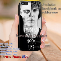 I'm Dead Quote Tate Langdon iPhone 6s 6 6s+ 5c 5s Cases Samsung Galaxy s5 s6 Edge+ NOTE 5 4 3 #movie #AmericanHororStory dl9