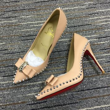 Christian Louboutin Cl Pumps High Heels Reference #02bk21 - Best Online Sale