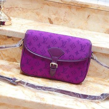 Louis Vuitton LV High Quality Fashion Leather Satchel Crossbody
