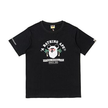 Pullover Short Sleeve Summer Couple T-shirts [1840850567219]