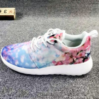 """NIKE"" Trending Fashion casual sports shoes Print light print floral"