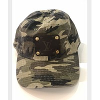 Adjustable LV Distressed Camo