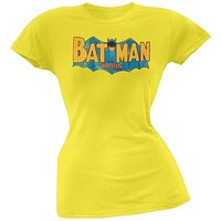 Batman - Classic Logo Juniors T-Shirt