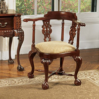 Park Avenue Collection Chippendale Corner Chair