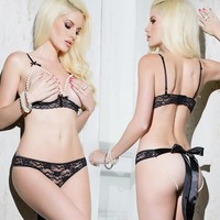 Hot Deal Cute On Sale Sexy Set Lace Exotic Lingerie [6595695619]
