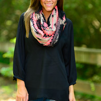 Pretty Simple Blouse, Black
