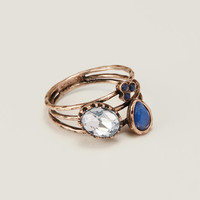 Cobalt Stackable Ring | LOFT