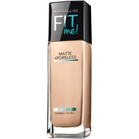 Maybelline New York Fit Me! Matte + Poreless Foundation, 125 Nude Beige, 1 fl oz - Walmart.com