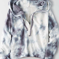 Don't Ask Why French Terry Zip Up Hoodie, Blue