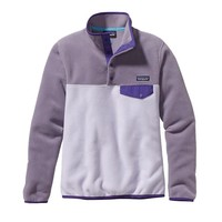 Patagonia Women's Lightweight Synchilla® Snap-T® Pullover | Tundra Purple
