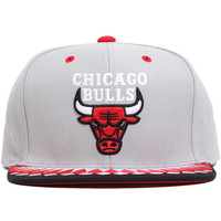 Chicago Bulls Variant Snapback Hat Grey