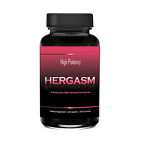 Totally Products Hergasm-Advanced Female Libido Virility Enhancement (60 Capsules) - Intensify sexual sensations, libido and sex drive