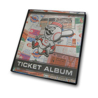 Ticket Album MLB - Cincinnati Reds (Holds 96 Tickets)