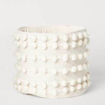Small Storage Basket - Natural white - Home All | H&M US