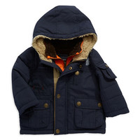 London Fog Baby Boys Colorblocked Puffer Coat
