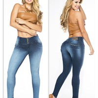 100%  Authentic Colombian  Push Up Jeans  12505 by Fantasy.(R)