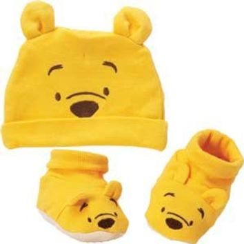 Baby Booties and Hat