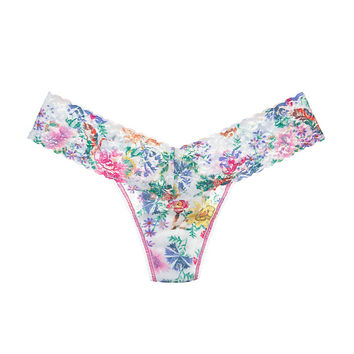 Wild Flower Low Rise Thong