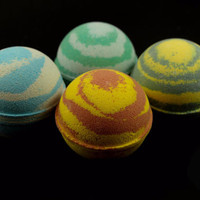 Harry Potter House Inspired Bath Bombs - Patronus Inspired Charms (4Pc)