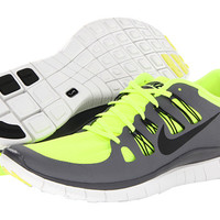 Nike Free 5.0+ Black/Dark Grey/White/Metallic Dark Grey - Zappos.com Free Shipping BOTH Ways
