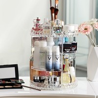 Euler Large Cosmetic Organizer with Adjustable Shelves