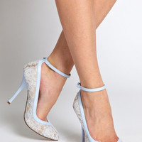 ASOS POUT Pointed High Heels