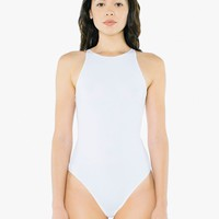 Cotton Spandex Sleeveless Bodysuit | American Apparel