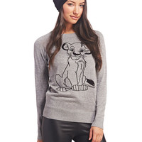Simba™ Graphic Sweater | Wet Seal