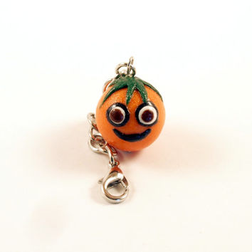 The Happy Orange Key Chain