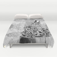Wisdom in nature Duvet Cover by Kristy Patterson Design