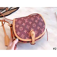 LV Louis Vuitton 2019 new women's wild saddle bag shoulder bag #2