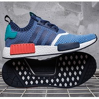 """Adidas"" NMD Fashion Trending Women Leisure Running Sports Shoes Light gray"