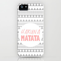 Hakuna Matata II iPhone & iPod Case by M Studio