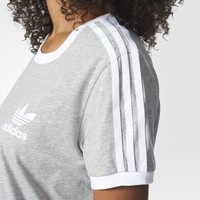 adidas 3-Stripes Tee - Red | adidas US
