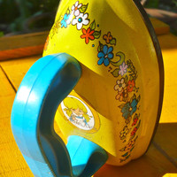 Iron Childs Vintage Toy Iron Pretend Tin Iron Sunnie Miss