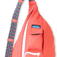 Monogrammed Kavu Rope Bags - Mandarin - Great gift for College, Teens, Women, Outdoors Satchel Crossbody Tote