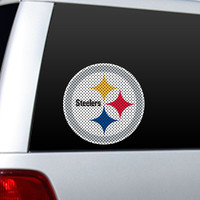 Pittsburgh Steelers Large Die-Cut Window Film
