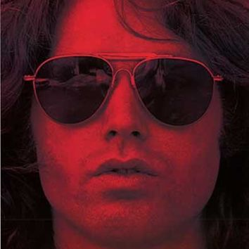 The Doors Jim Morrison Red Poster 22x34