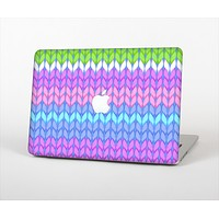 """The Bright-Colored Knit Pattern Skin Set for the Apple MacBook Pro 15"""""""