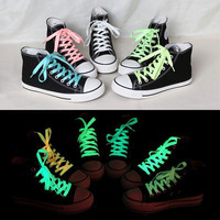 Fluorescent shoelace Athletic Sport flat shoe laces