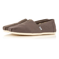 Toms Original Classic Slip On Shoes - Casual Shoes - Shoes and Accessories - TOPMAN USA